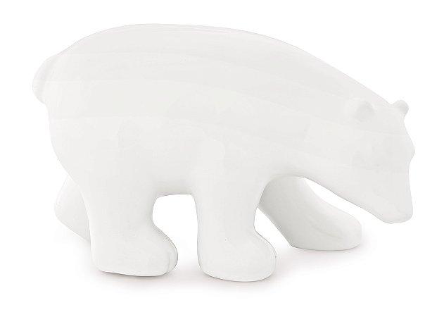 Urso decorativo Branco 11,5cm
