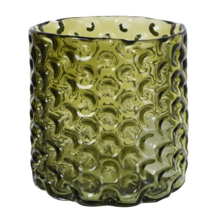 Vaso vidro Verde 20cm