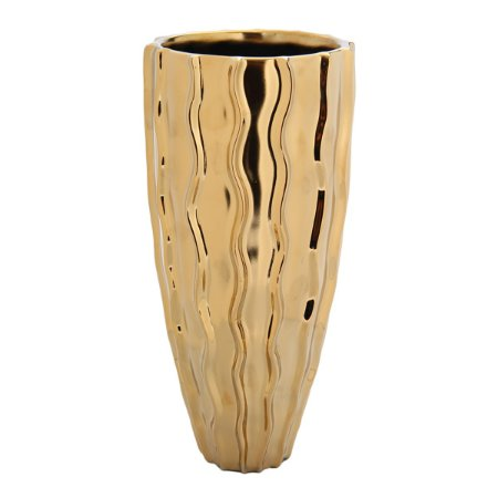 Vaso Dourado 26cm