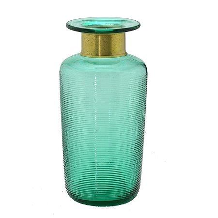 Vaso vidro Verde 27,5cm