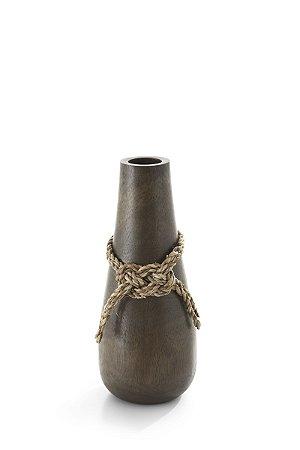 Vaso em Madeira Knot P