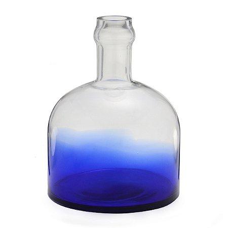 Vaso de vidro Azul 28cm