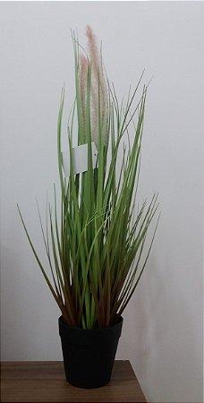 Capim Artificial c/ Vaso PP