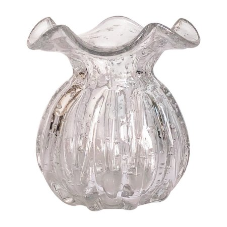 Vaso Murano Transparente 11cm