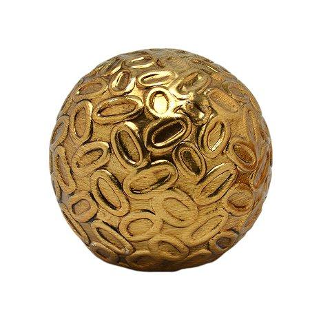 Bola Dourada 10cm