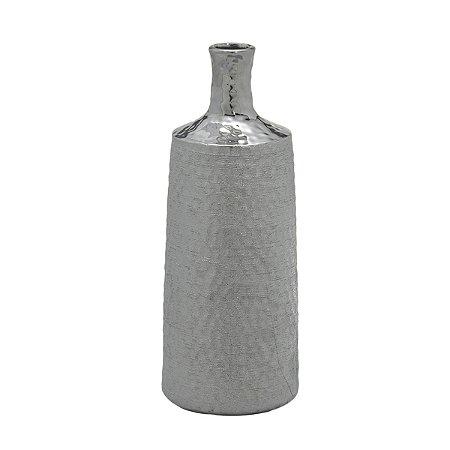 Vaso Prata Martelado 33,5cm