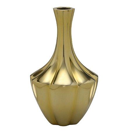 Vaso Decorativo Dourado