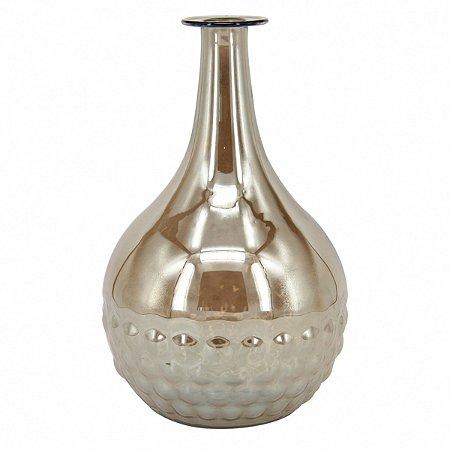Vaso metalizado Ambar