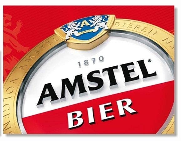 Placa Amstel Bier
