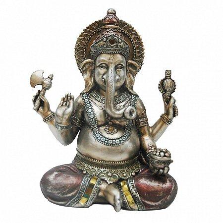 Ganesha de resina 20cm