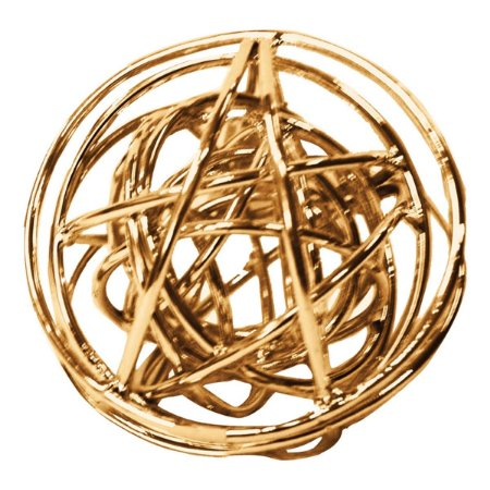Esfera Metal Cobre 11,5cm