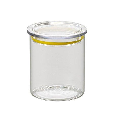 Pote c/ vedação amarelo 480ml