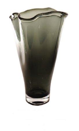 Vaso de vidro Fumê