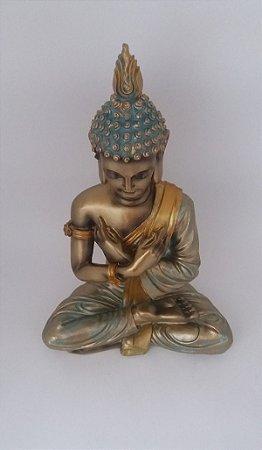 Buda Decorativo Dourado