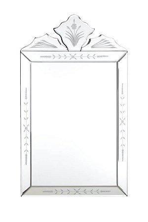 Espelho Veneziano Bisotado Retangular