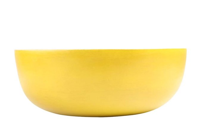 Tigela em Madeira Amarela 20cm