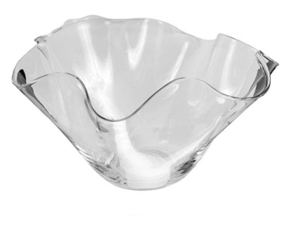 Vaso de Vidro Incolor