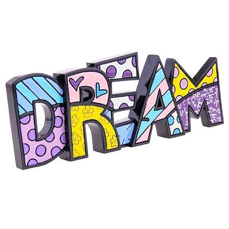 Palavra Dream - Romero Britto