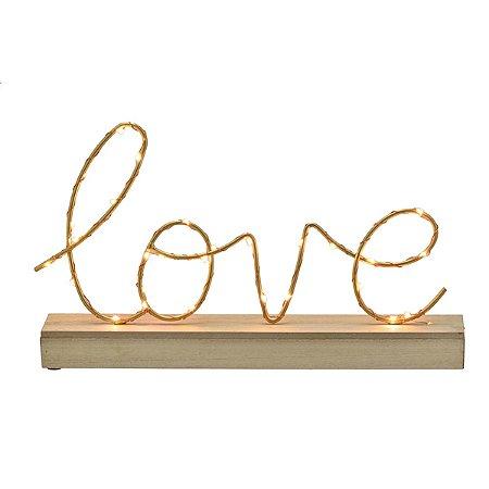 Love Decorativo c/ Luz
