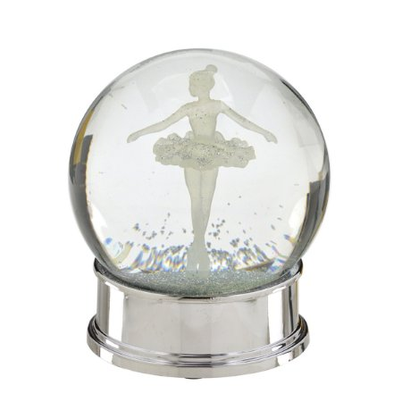 Globo de Água Bailarina Prata