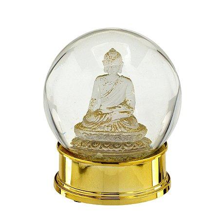 Globo de Água Buda Dourado
