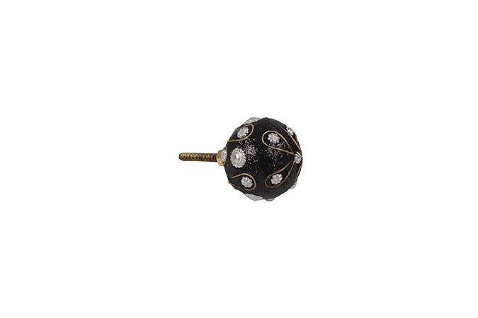 Puxador p/ Porta Metal 3,5cm