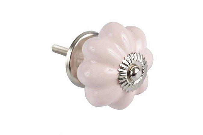 Puxador p/ Porta Cerâmica Rosa