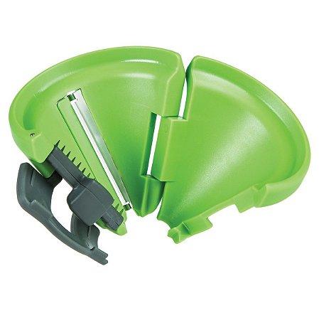 Peeler Espiral Liso Verde
