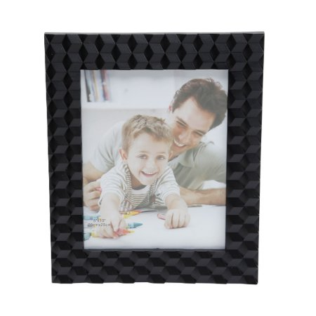 Porta Retrato Cube Black 20x25cm