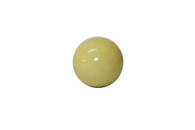 Puxador p/ Porta Cerâmica Amarelo