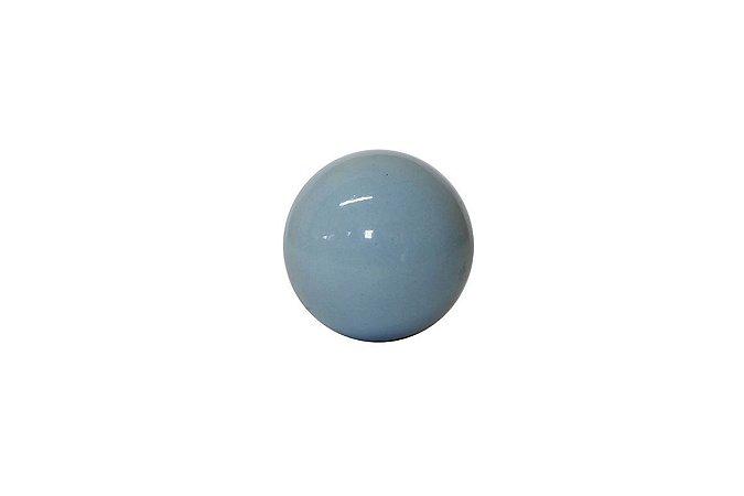 Puxador p/ Porta Cerâmica Azul
