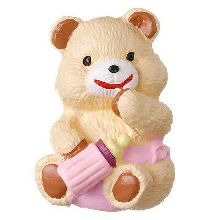 Puxador Urso Mamadeira Lilás