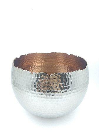 Vaso Alumínio Decorativo G