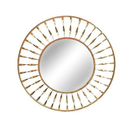 Espelho Sole Dourado