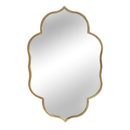 Espelho Rabat Dourado