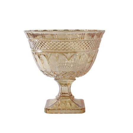 Fruteira Taça Elise Âmbar