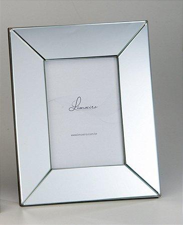 Porta Retrato Heitor Espelho Cristal 15x21cm Limoeiro
