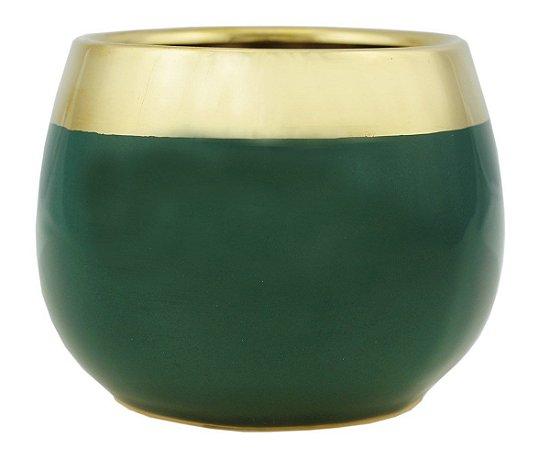 Conjunto 2 Vasos Decorativos Verde Rojemac