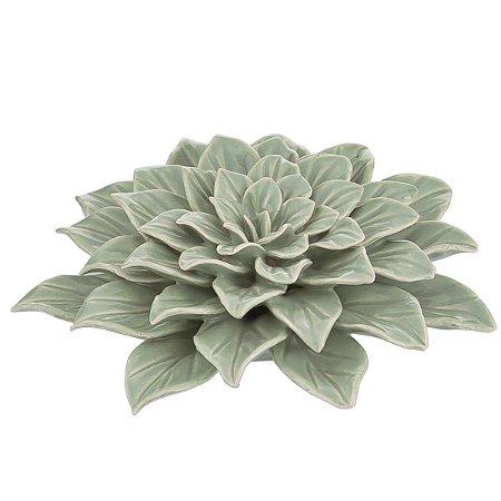 Flor Decorativa Verde Claro Mart