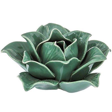 Flor Decorativa Verde Mart