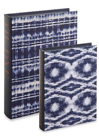 Kit Livro Caixa Tie Dye 2 peças Mart