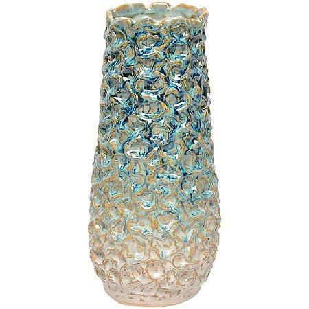 Vaso Decorativo Azul 33cm GS