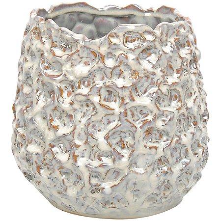 Vaso Cerâmica Bege GS