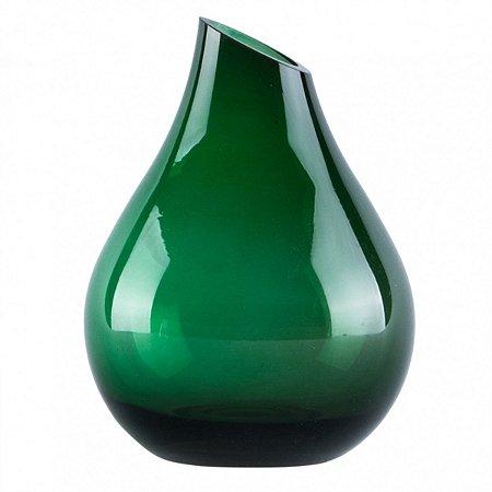 Vaso Decorativo Vidro Verde BTC