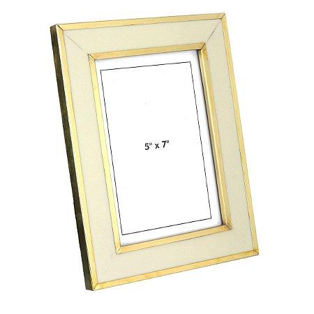 Porta Retrato Mango Branca 13x18cm Rojemac