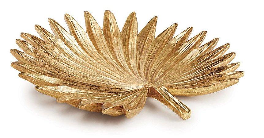 Folha Decorativa Dourada Mart