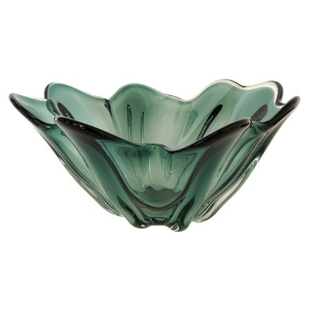 Vaso Decorativo Murano Verde BTC