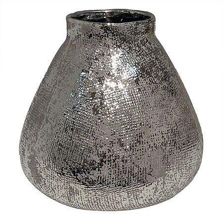 Vaso Decorativo Prata BTC