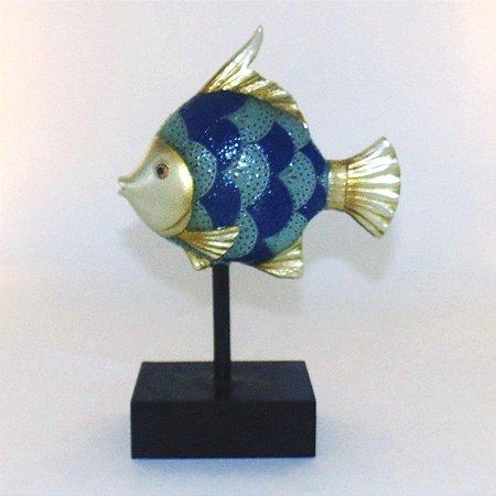 Escultura Peixe Decorativo I Nataluz