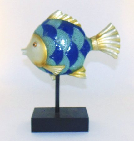 Escultura Peixe Decorativo II Nataluz